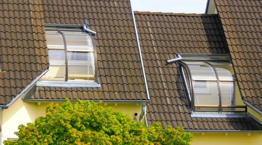 Schuster`s Wintergarten Dacheinbau